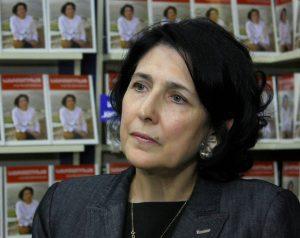 Salomė Zourabišvili | en.wikipedia.org nuotr.