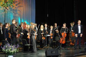 Simfoninis orkestras | Plungės kultūros centro nuotr.