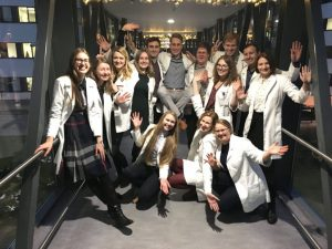 Studentai-gydytojai. Dainius Vaiciulis_asm.foto.