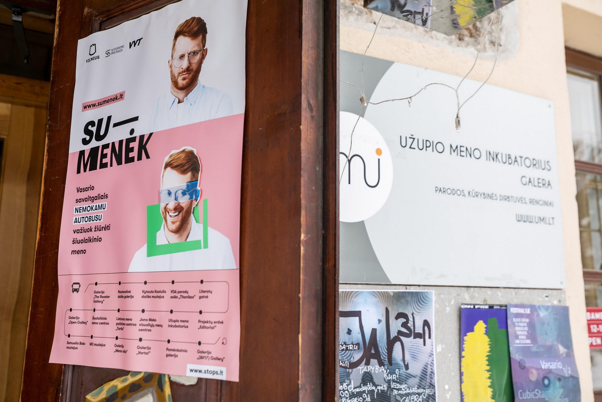 SU-MENĖK sėkmės istorija: iki 8 kartų išaugo apsilankymai sostinės šiuolaikinio meno galerijose   Vilniaus miesto savivaldybės nuotr.