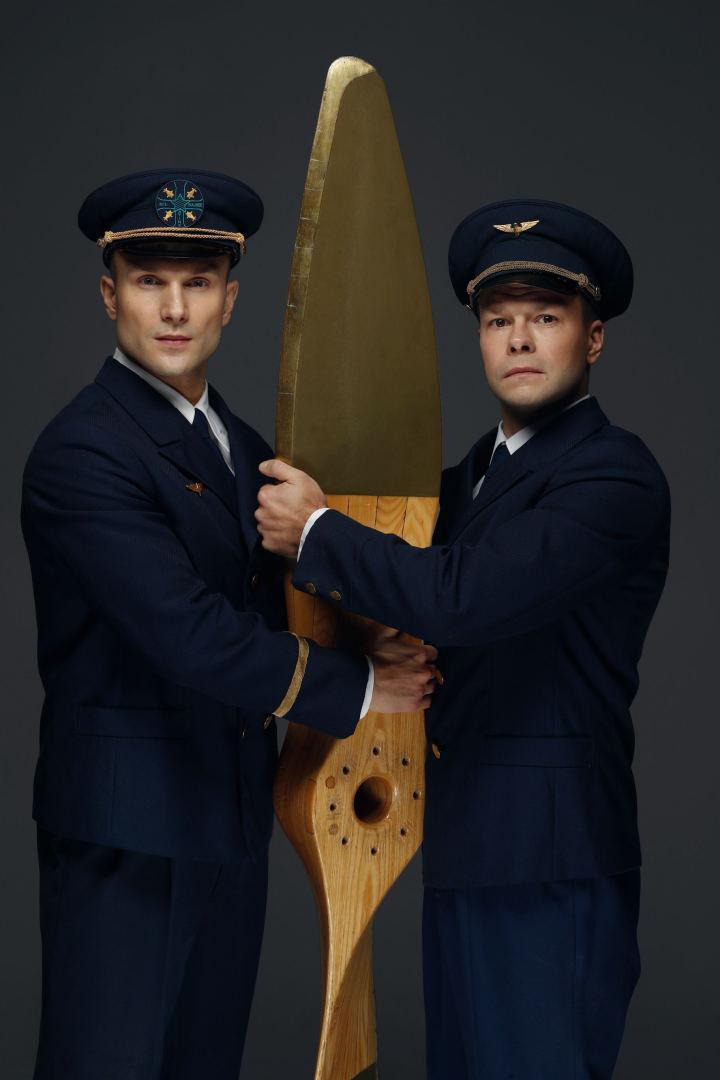 Darius ir Girėnas – Vaidas Baumila ir Jokūbas Bareikis   Rengėjų nuotr.