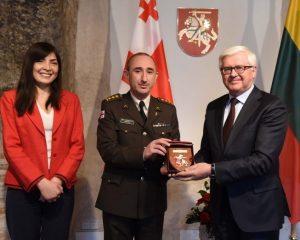Paskirtas naujas Gruzijos gynybos atstovas Lietuvai | G. Maksimovicz, KAM nuotr.