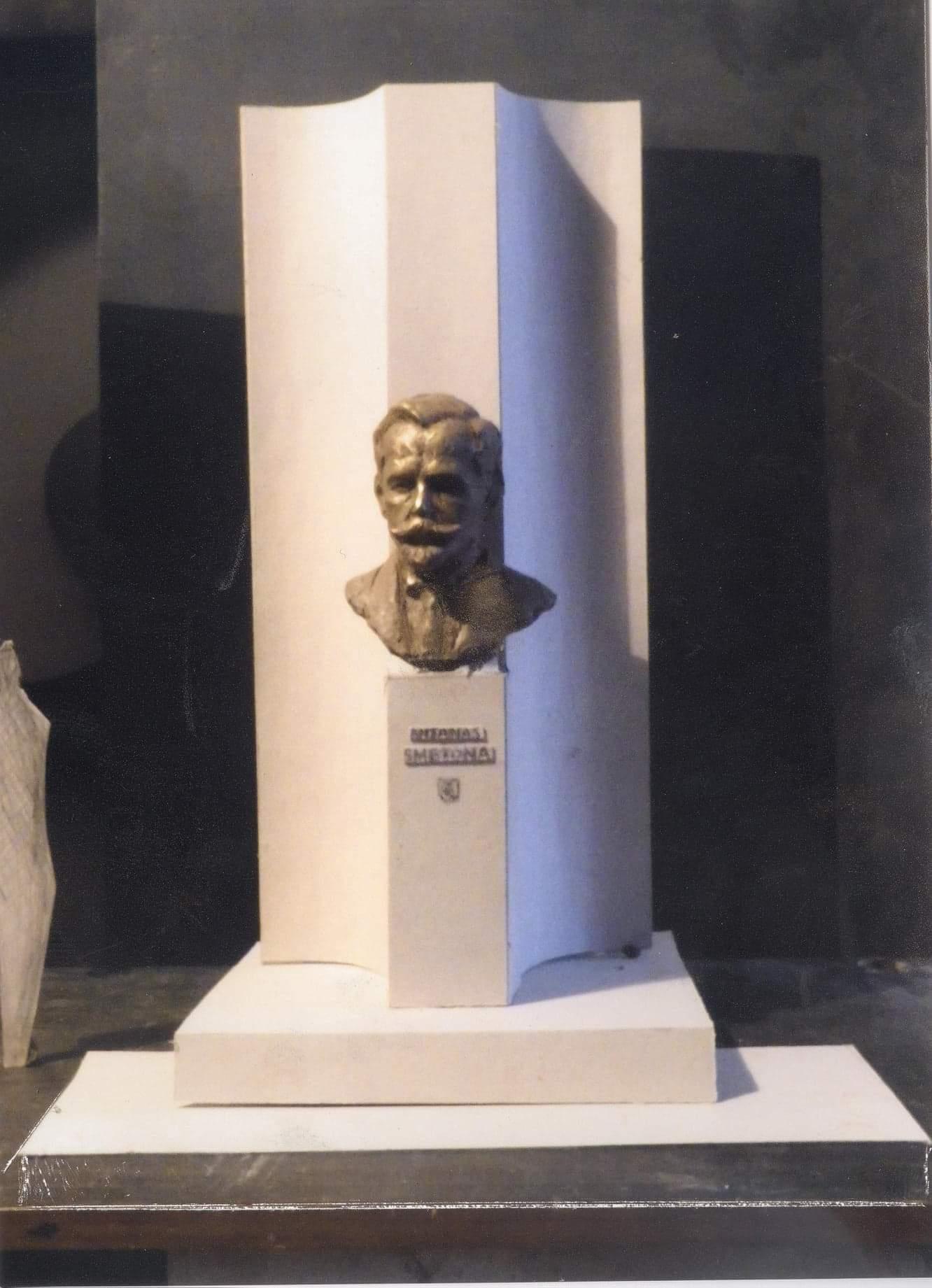 Prezidento A. Smetonos paminklo Vilniuje projektas,autorius A. Žukauskas | A. Žukausko nuotr.