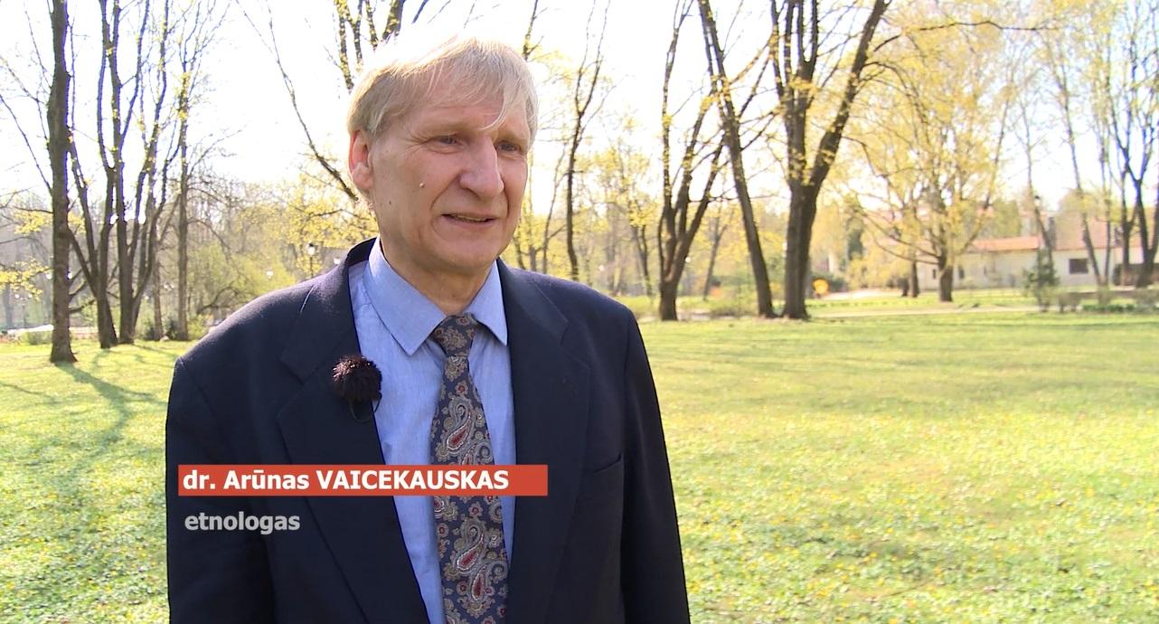 Etnologas, Kauno Vytauto Didžiojo universiteto docentas dr. Arūnas Vaicekauskas | VAT nuotr.