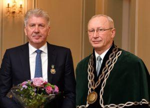 P. Dailidė ir A. Maziliauskas | Vytauto Didžiojo universiteto nuotr.