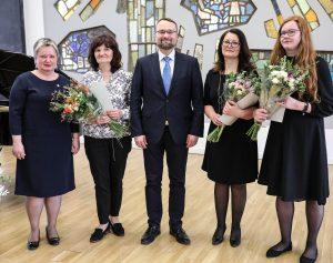 Bibliotekininkų pdovanojimai | lnb.lt nuotr.
