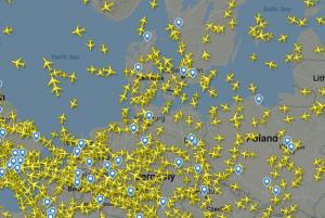 """Skrydžių radaras   """"Flightradar24"""" nuotr."""
