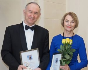 Irena ir Mečislovas Žalakevičiai | A. Umbraso nuotr.