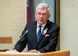 Lenkijos Respublikos Senato Pirmininkas Stanislavas Karčevskis   lrs.lt nuotr.