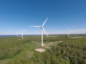 Vėjo jėgainė | integrity.lt nuotr.