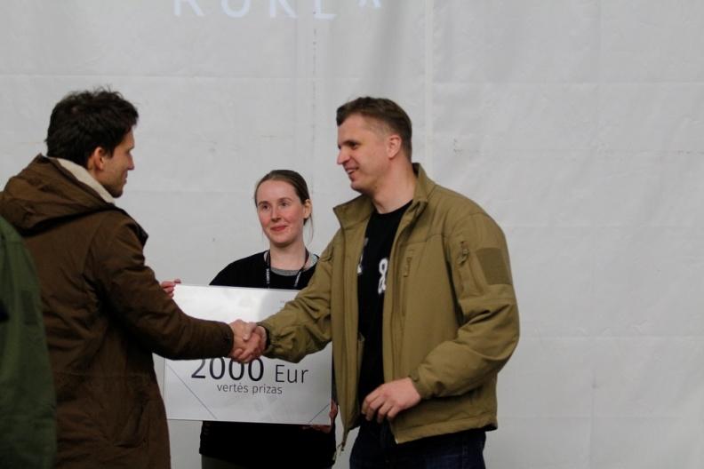 Pirmojoje Lietuvos gynybos technologijų kūrybos stovykloje sugalvota 40 naujoviškų gaminių | Gr. V. Zalatoriūtės nuotr.