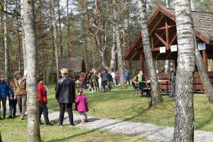 """""""Vidur girių"""" pagrindinė renginio erdvė   Baltijos aplinkos forumo nuotr."""
