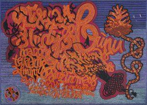 Rasos Janulevičiūtės kaligrafija | lnm.lt nuotr.