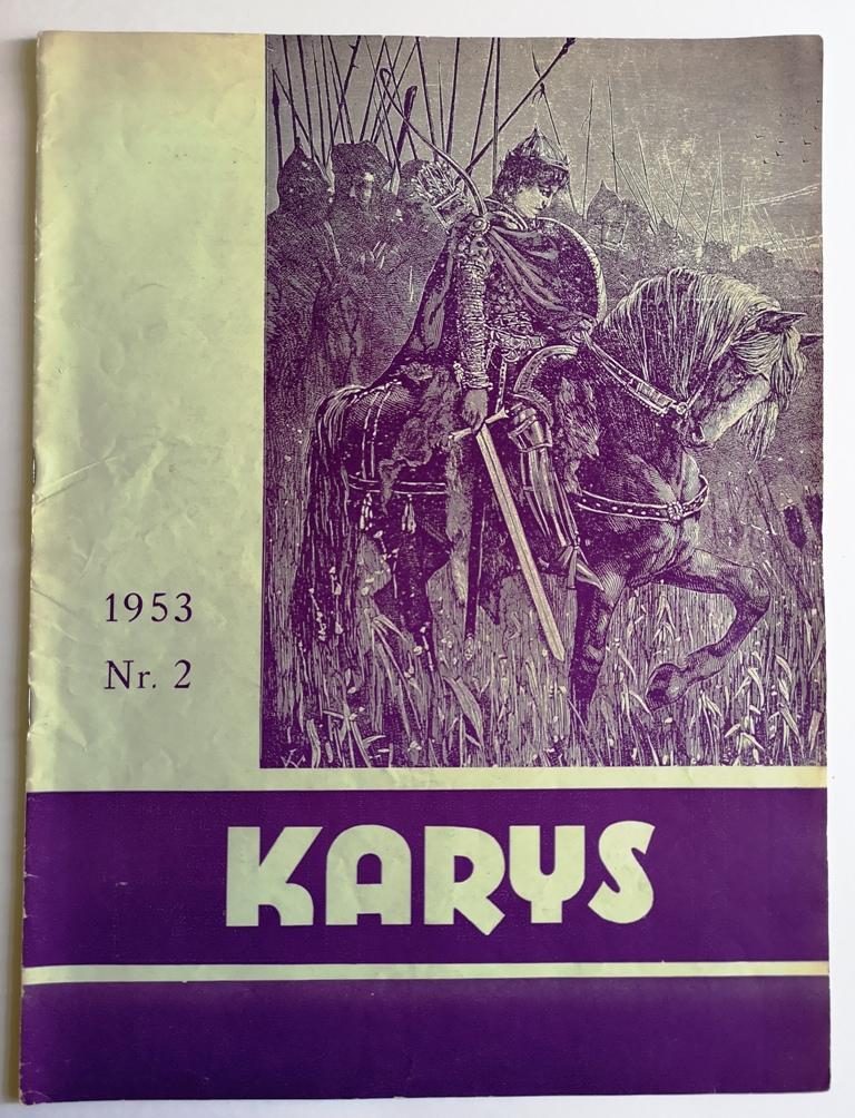 Karys 1953 m., Niujorkas | LMA Vrublevskių bibliotekos nuotr.