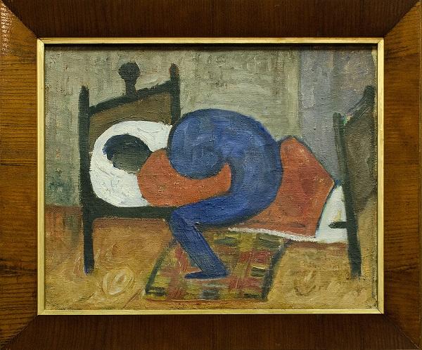 A. Samuolio paveikslas – Liga | Meno rinkos agentūros nuotr.