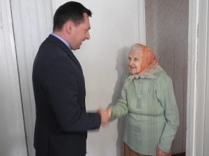 Pagerbti partizaninio judėjimo dalyviai | Ignalinos rajono savivaldybės nuotr.