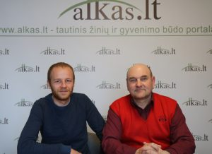 Albertas Kazlauskas ir Gerimantas Statinis | Alkas.lt nuotr.