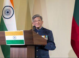 Indijos garbės konsulas Rainderis Kumaras Čaudaris (Rajinder Kumar Chaudhary) | Rengėjų nuotr.