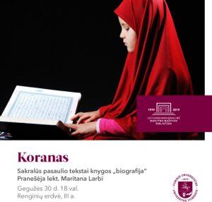 Koranas | rengėjų nuotr.