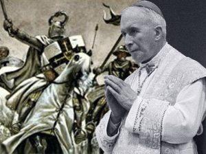 Radikalioji krikščionybės atskala suburta arkivyskupo Marselio Lefebro pagal jo pavardę vadinama lefebristais | Alkas.lt koliažas