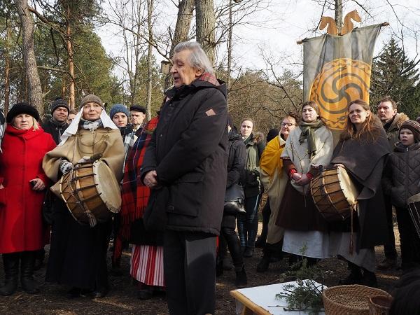 Lygiadienis ant Pučkorių piliakalnio 2018-03-25 | Lietuvos mokslų akademijos nuotr.