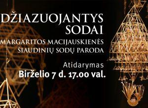 Margaritos Macijauskienės paroda | Klaipėdos etnokultūros centro nuotr.