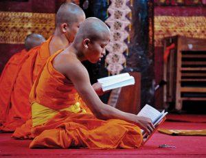 Paskaita apie budizmą | vu.lt nuotr.