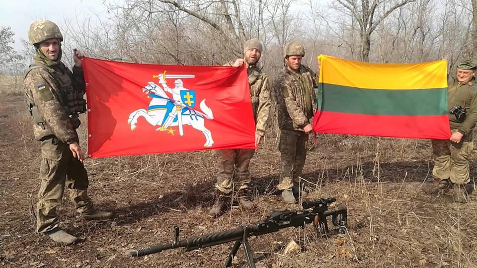 Ukrainos kovotojai | Rengėjų nuotr.