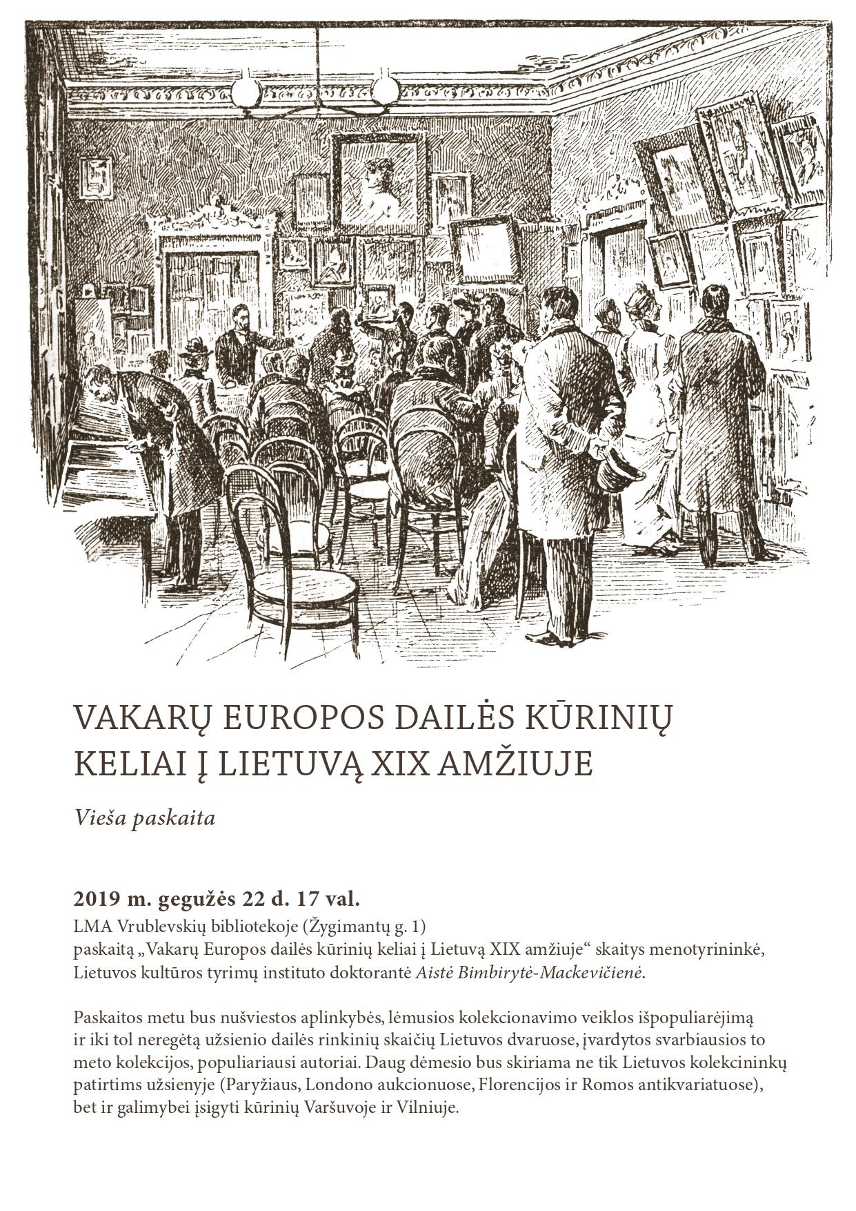 Vakarų Europos dailė   LMA Vrublevskių bibliotekos nuotr.