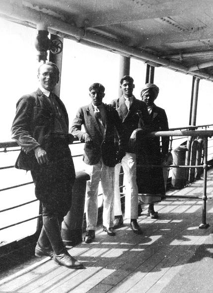1932 m. Matas Šalčius pakeliui į Indiją | Voruta.lt nuotr.