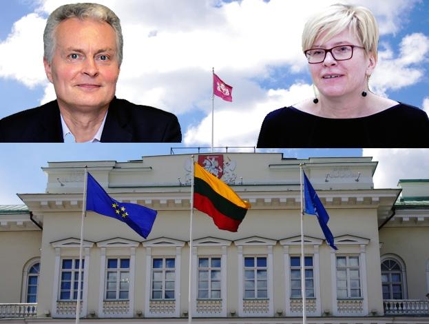 Gitans Nausėda ir Ingrida Šimonytė | Alkas.lt nuotr.