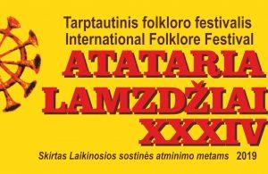 """XXXIV tarptautinis folkloro renginys """"Atataria lamzdžiai – 2019"""" tarpukario šviesoje   Kauno tautinės kultūros centro nuotr."""