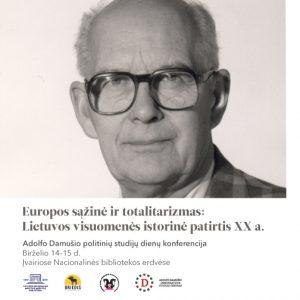 Adolfo Damušio politinių studijų dienos Nacionalinėje bibliotekoje | lnb.lt nuotr.