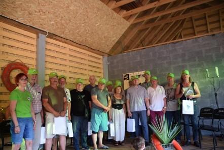 Palūšė pasitiko vasarą ir pasveikino jos turistinę istoriją kūrusius žmones | Ignalinos rajono savivaldybės nuotr.