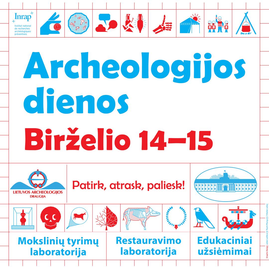Archeologijos dienos   Rengėjų nuotr.
