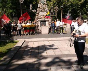 1941 m. birželio sukilimo minėjimas Kaune | A.Kulikausko nuotr.