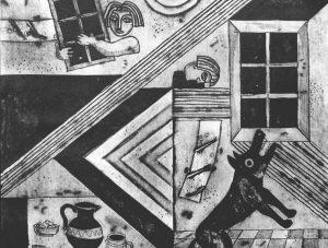 """Čepauskas Gimtinės lgendos. Užburtas langas   LDS galerijos """"Arka"""" nuotr."""