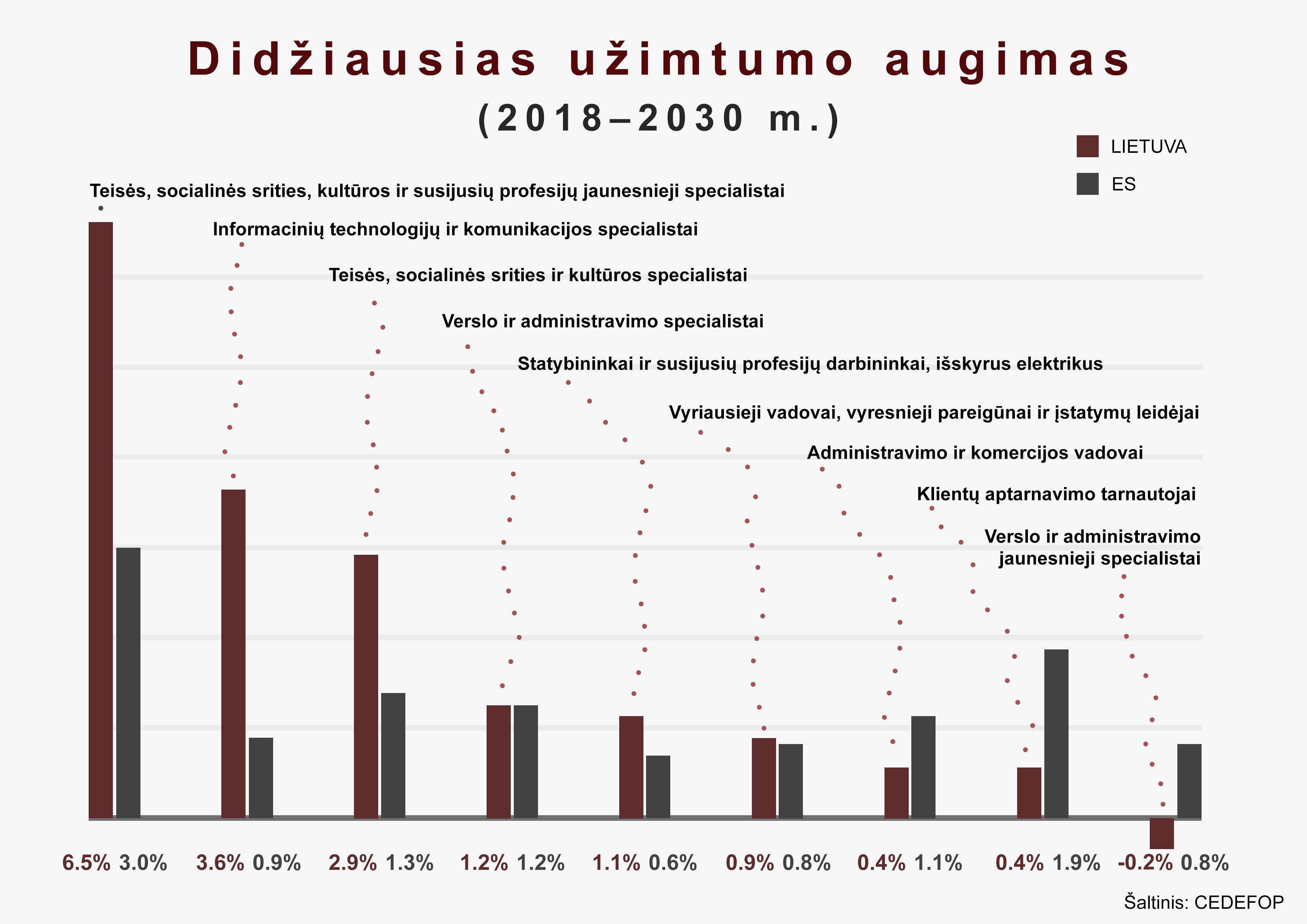 ES tyrimas, užimtumas | VDU nuotr.