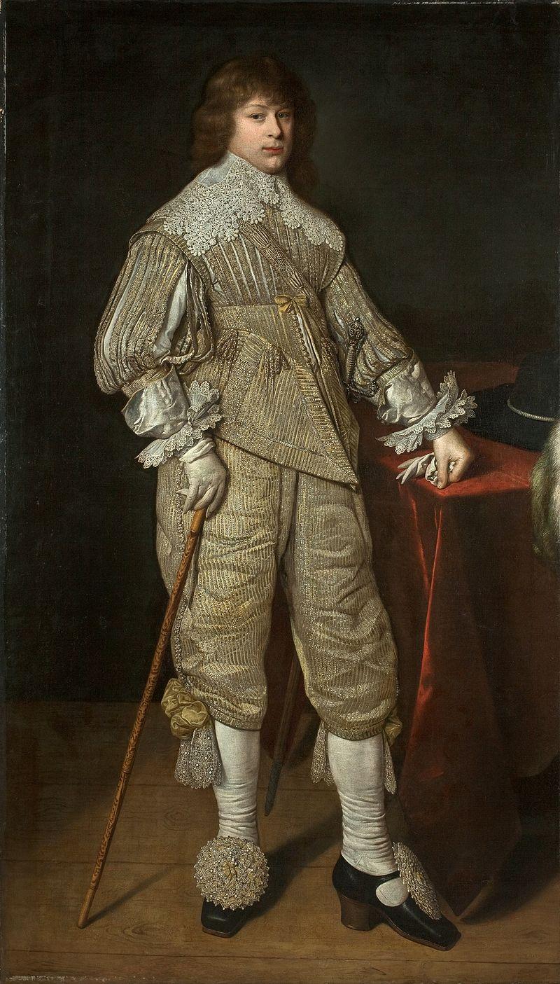 Jonušas Radvila jaunystėje 1632 m. | wikipedija.org nuotr.