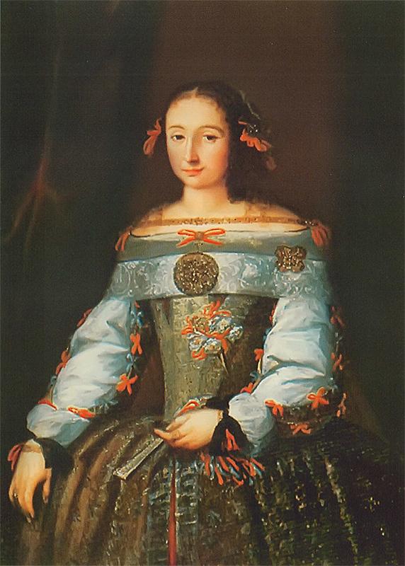 Jonušo Radvilos pirmoji žmona Kotryna Potocka.1670-79m. | wikipedija.org nuotr.
