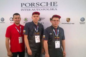 Laimėtojai | Vilniaus automechanikos ir verslo mokyklos nuotr.
