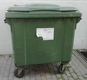 Miščių atliekų konteineris | Kedainiai.lt nuotr.