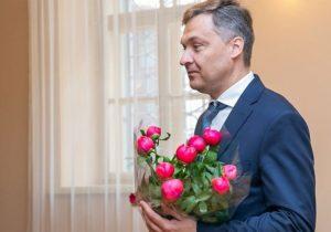 Punsko lietuvių Kovo 11-osios licėjaus direktorius Alvydas Nevulis | Džojos Gundos Barysaitės (LRS) nuotrauka