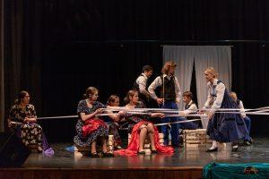 Punsko lietuvių kultūros namų teatras | Rengėjų nuotr