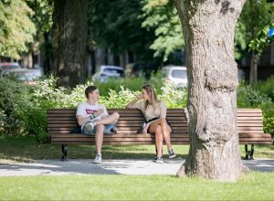 Vardinis suoliukas | Vilniaus m. sav. nuotr.