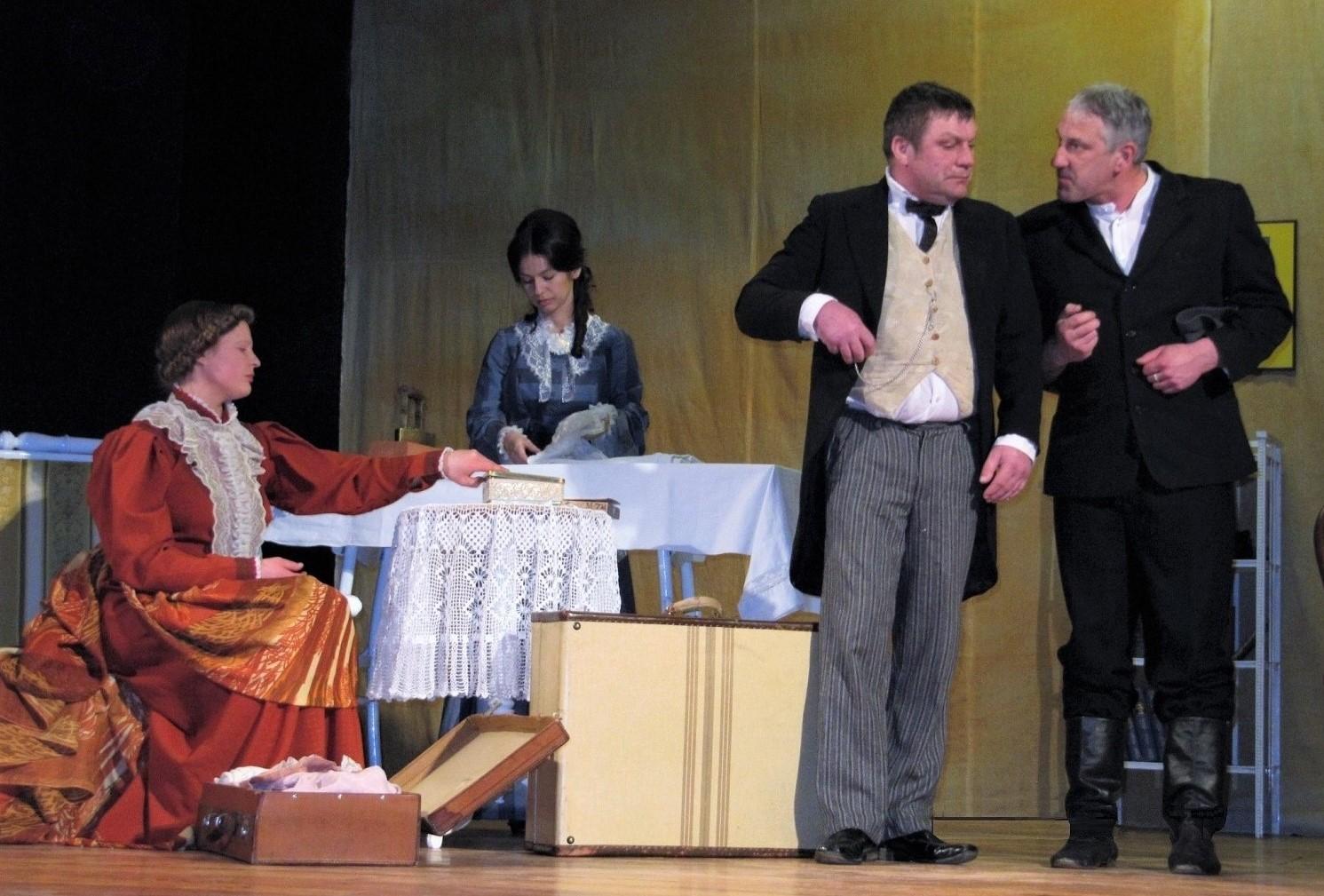 Zlėkų mėgėjų teatras iš Latvijos | Rengėjų nuotr