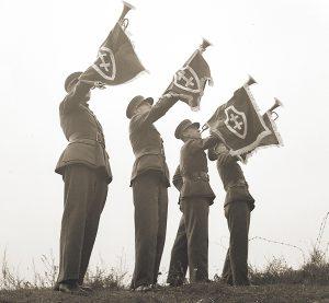 Šaulių trimitininkai. 1936–1939 m. | V. Augustinas, LNM nuotr.
