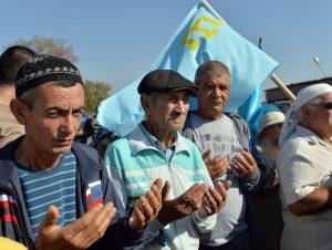 Krymo totoriai | Scanpix nuotr.