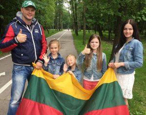 Kristupas Krivickas su šeima | asmeninė nuotr.