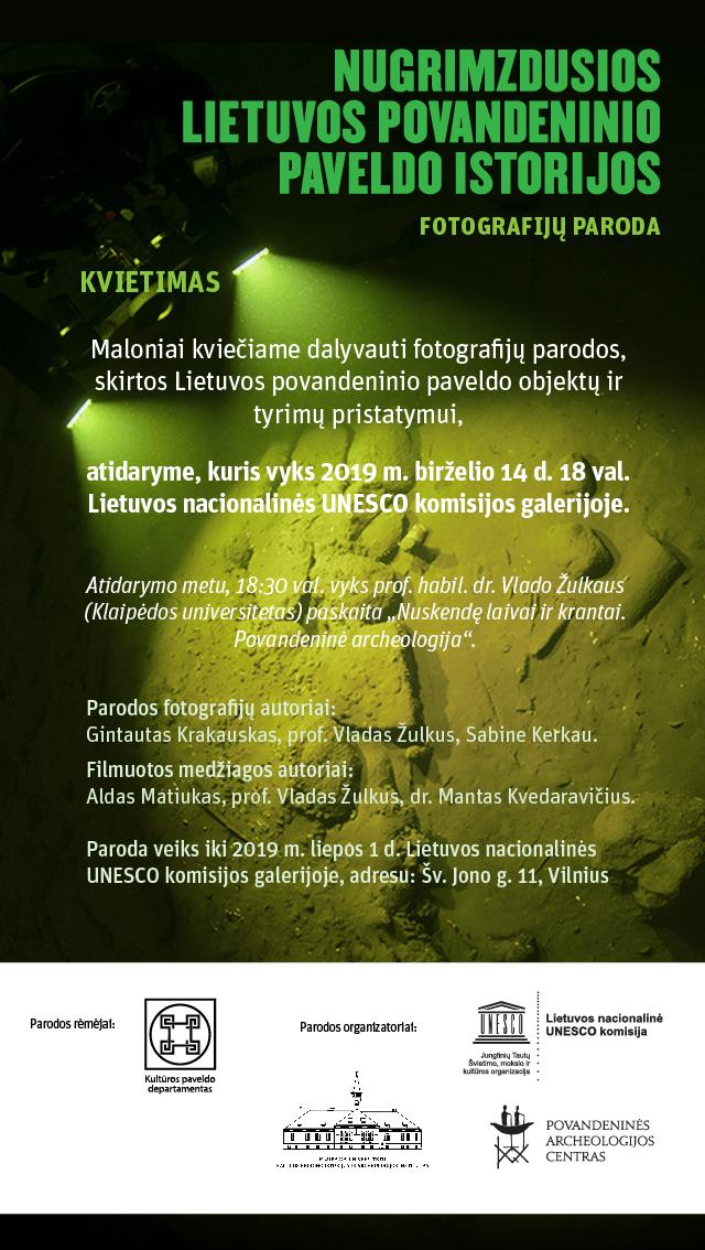 Kvietimas | Lietuvos nacionalinės UNESCO komisijos nuotr.